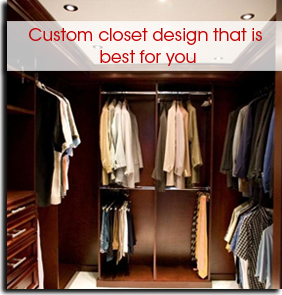 Miami Florida walk-in closet design