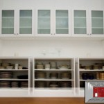 glass ware starage 150x150 Pinecrest Closet Design
